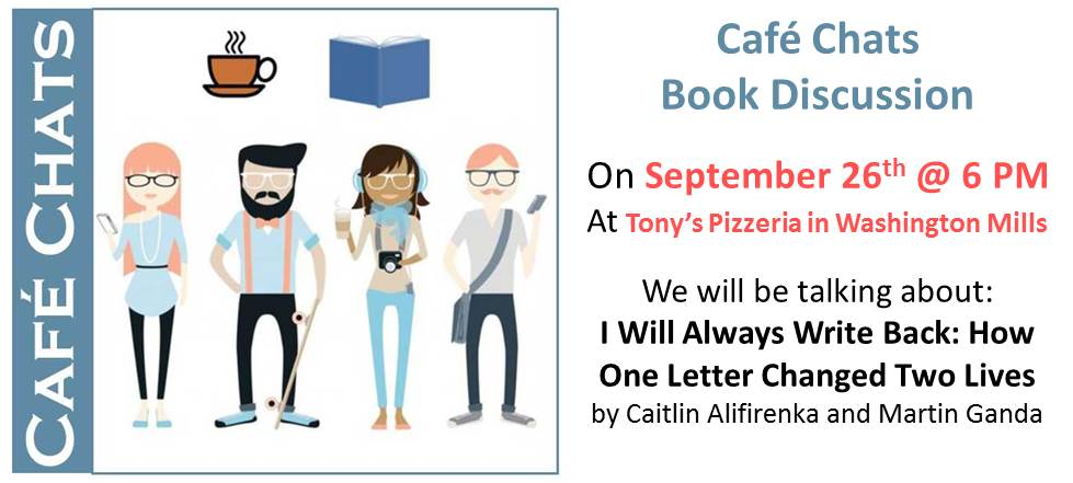 Cafe Chats Sept 2018