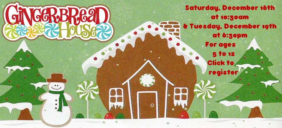 Dec 16 and 19 gingerbread house