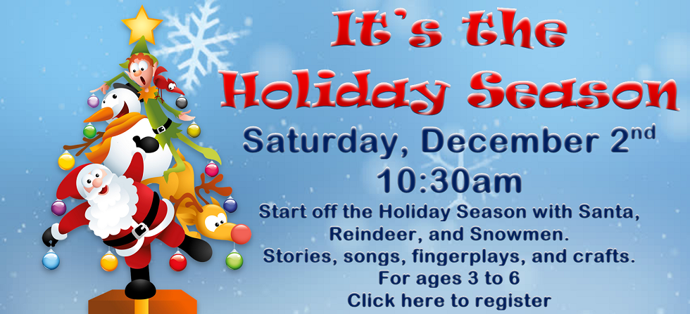 Dec 2 Holiday Storytime